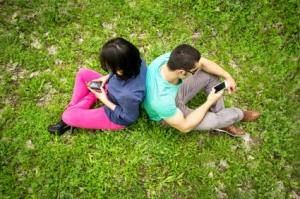 Ahh modern love.